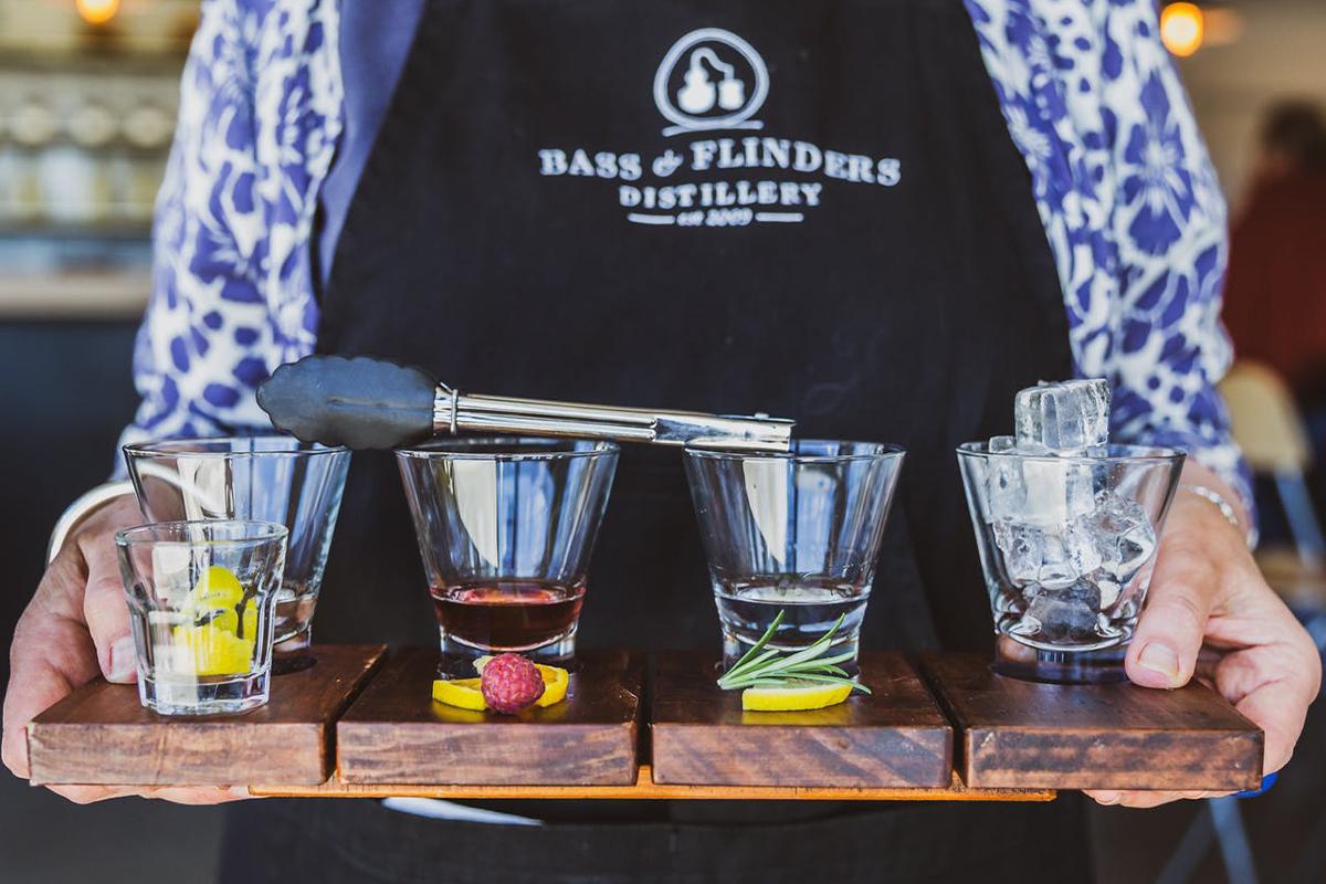Gin Tasting at Bass and Flinders